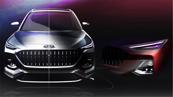 江淮全新SUV设计图曝光,主打6座/下半年上市