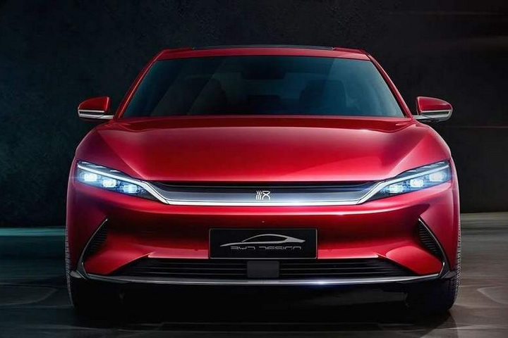 比亚迪汉,新能源汽车,中大型轿车,新车,预售