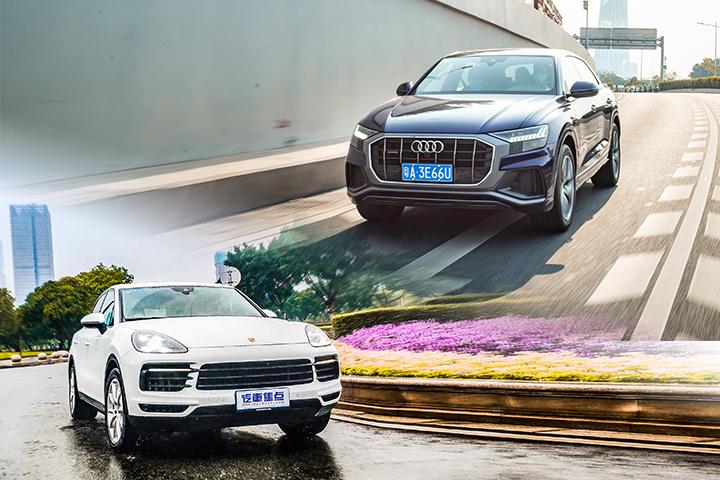 科技豪华VS运动标杆,奥迪Q8对比卡宴,谁才是百万级SUV最优选?