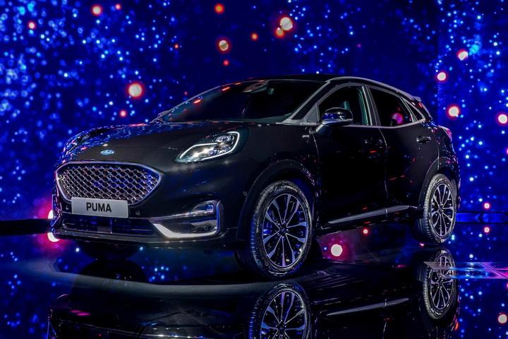 全新PUMA ST-Line Vignale车型的官图发布,造型设计更显运动