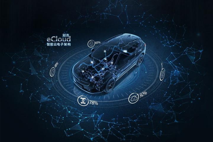昂科威S将搭载eCloud智能云电子架构,可通过远程进行多项升级