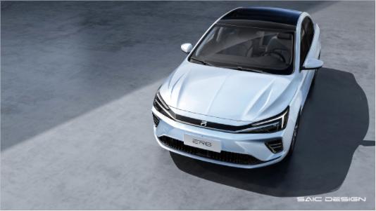 荣威R ER6设计品鉴,兑现想象中的纯电轿车