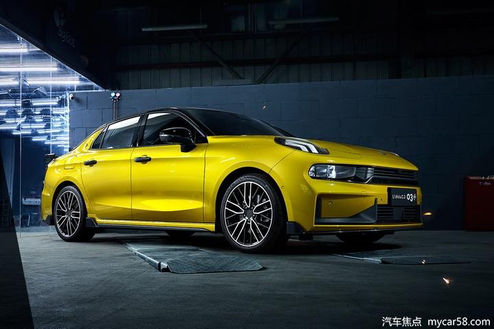 领克03+即将上市,2.0T+8AT破百不需6秒,高性能国产车型