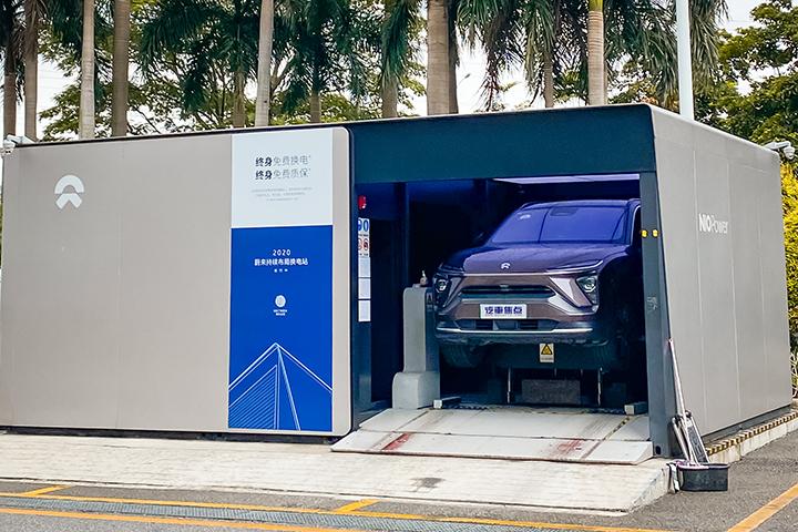 蔚来推出电池租用服务:车价立减7万,电池月租980元