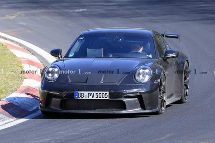 全新911 GT3 RS谍照曝光,搭6缸水平对置发动机,动力将超600马力