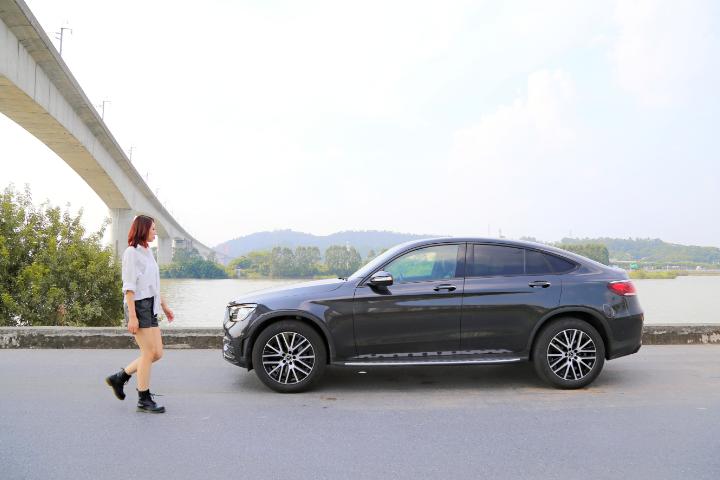 豪华与运动完美结合,Lina试驾奔驰GLC Coupe