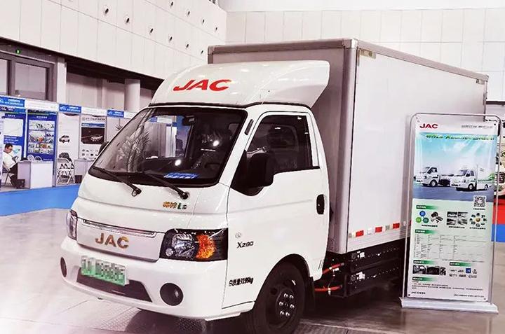 江淮新能源商用车重磅出击中国(南京)国际新能源和智能网联汽车展览会