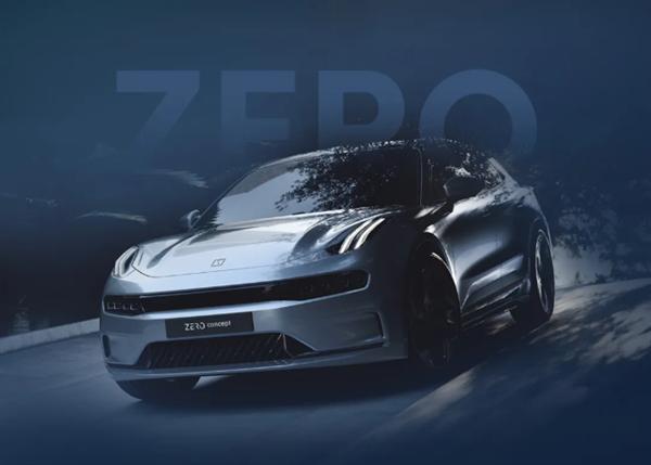 领克首款纯电概念车亮相,空气悬架+无边框车门!