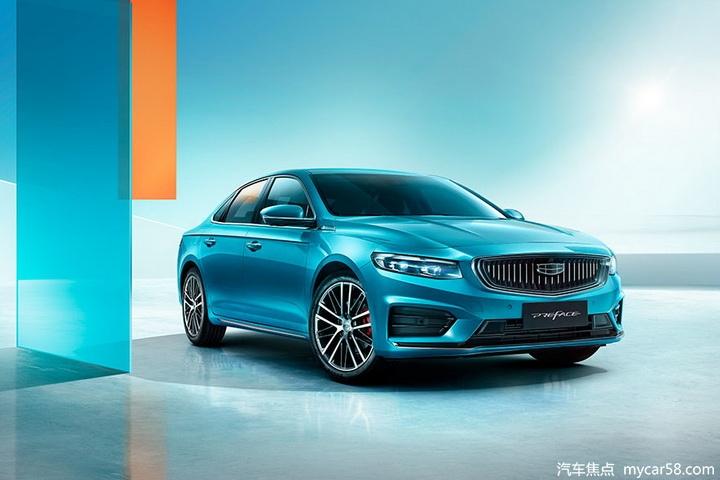 吉利PREFACE命名星瑞,搭沃尔沃2.0T动力,北京车展开启预售