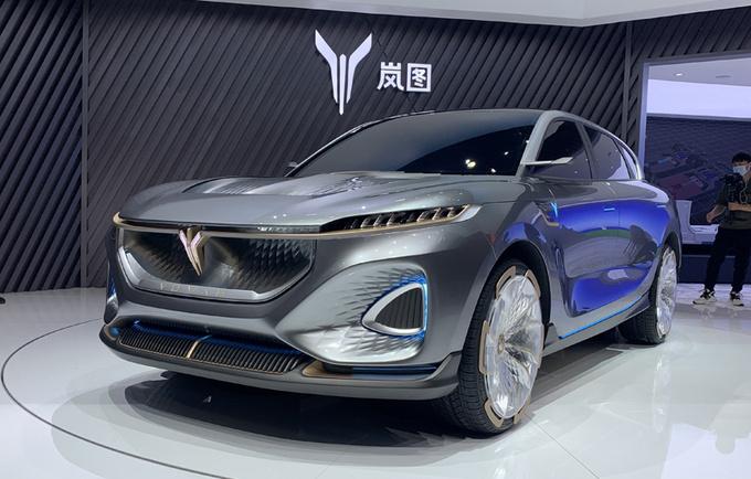 5G成大亮点,东风岚图概念车iFree亮相北京车展