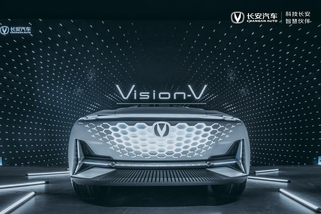 新科技智慧美学 长安发布高端产品序列UNI及概念车Vision V