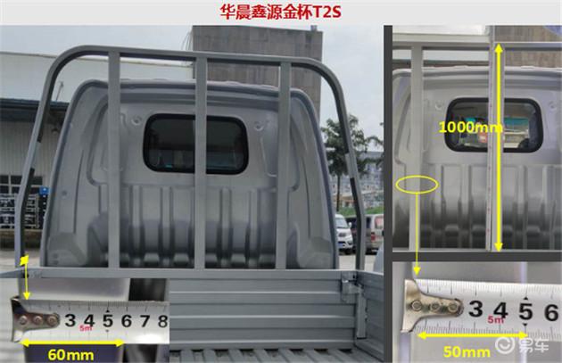 华晨鑫源金杯T2SVS长安跨越王X1,经济型微卡哪辆更实用?