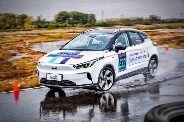 CEVC大赛精彩回顾,几何C斩获新能源量产车型四项冠军