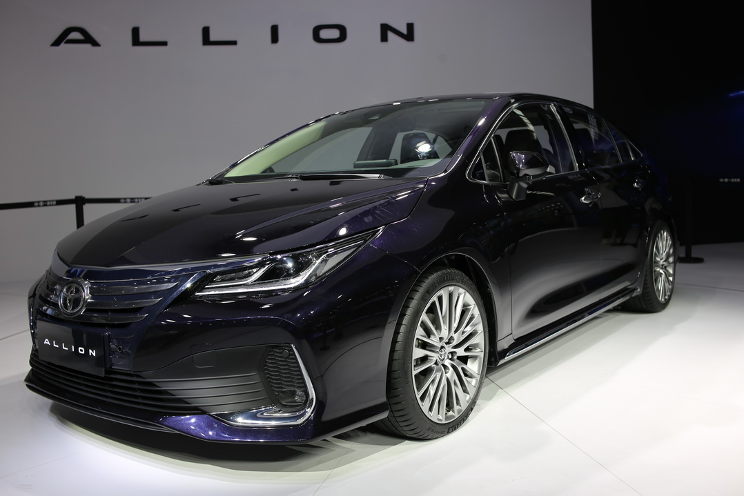 丰田TNGA架构打造,定位A+级,广州车展实拍一汽丰田ALLION