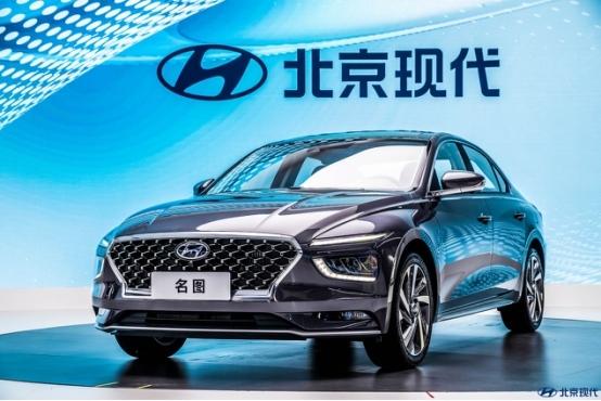 全新一代名图+名图纯电动广州车展首发 明年一季度上市