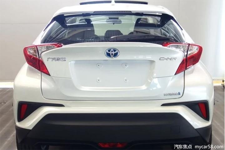 广汽丰田C-HR双擎亮相工信部,2.0L混动油耗4.5L!