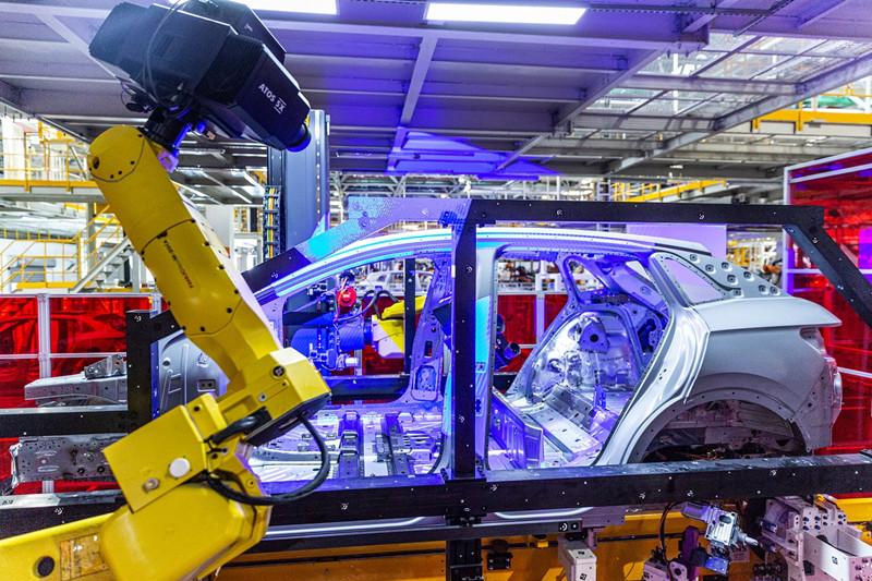 ID.4 X智慧基因从哪来?上汽大众新能源汽车工厂给你答案