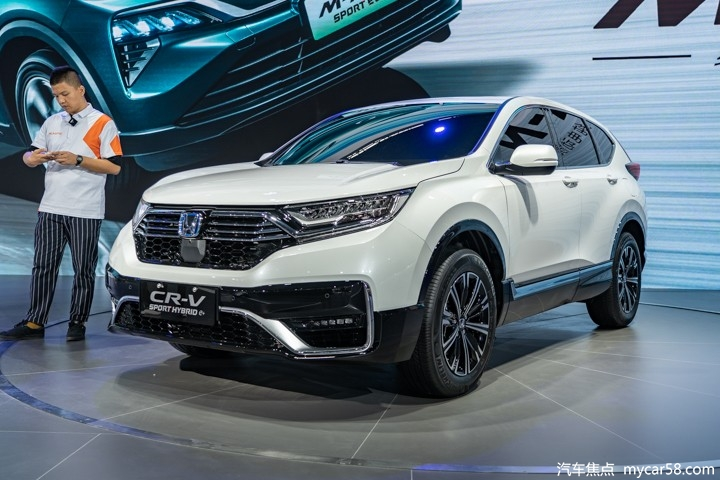 本田首款插电混动SUV春节前上市,搭全新动力组合