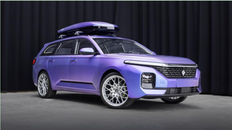 官宣:第二款新宝骏休旅车定制版-极光紫重磅亮相!