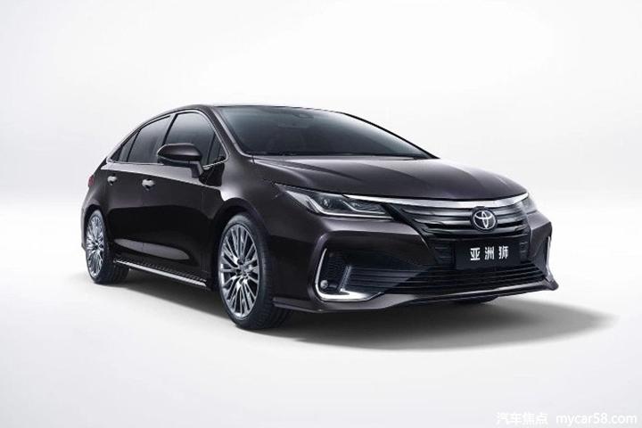 全系搭2.0L动力,14.28万元起售,一汽丰田亚洲狮上市