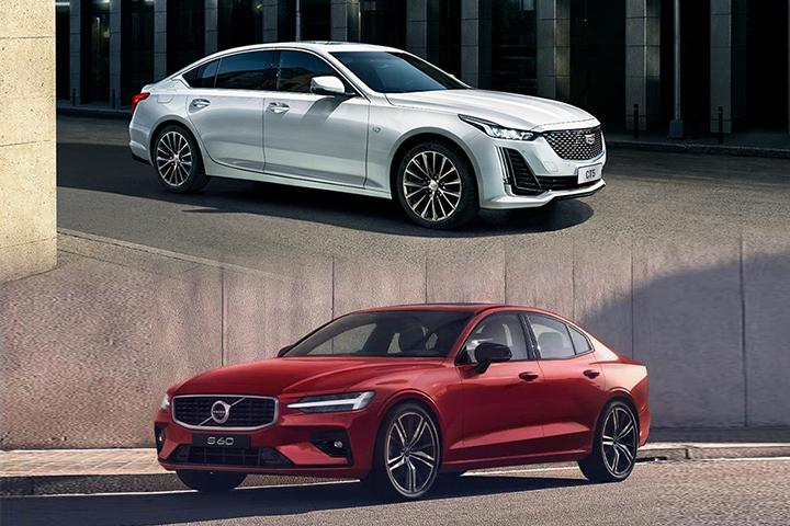 30万预算买运动中型车,凯迪拉克CT5/沃尔沃S60谁更合适?