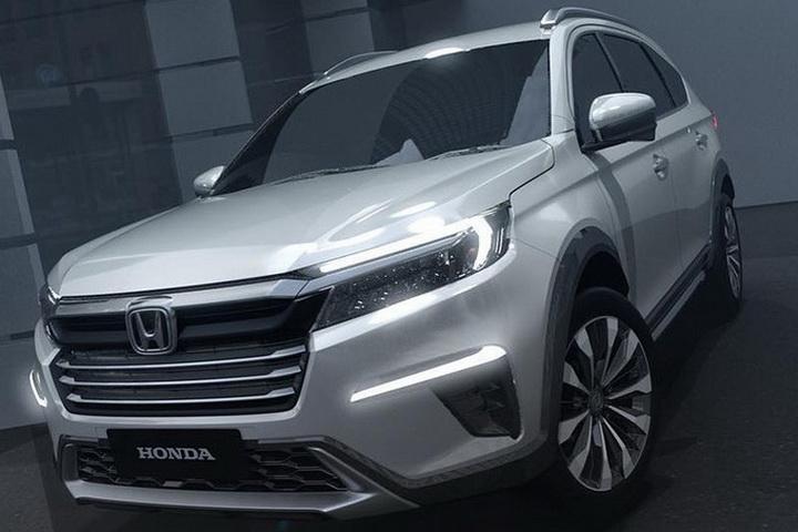 本田发布新款SUV一一N7X,7座布局,6月亮相