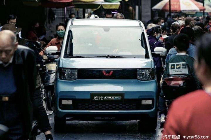 五菱宏光MINIEV上海上牌受限,疑设10万元及4.6米以上标准