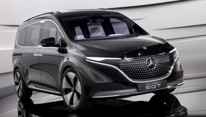 奔驰EQT概念车正式发布,不再采用怀挡机构