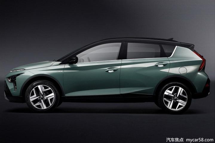 现代全新SUV Bayon海外发售,造型帅气,搭小排量动力